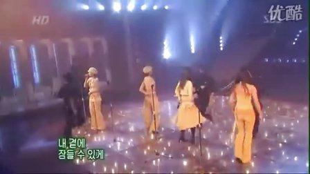 韩国元祖偶像组合:Fin K L(李孝利)-永远 (SBS高清现场版)
