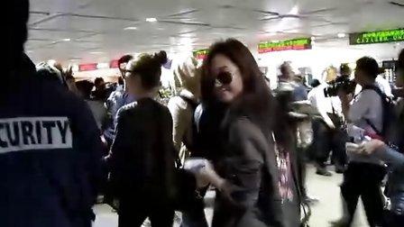101015 Fancam 台北桃园机场出关前 YoonYul