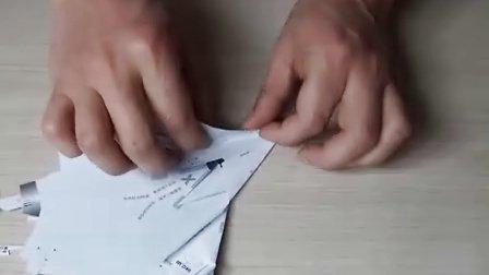幻影2000仿真纸飞机