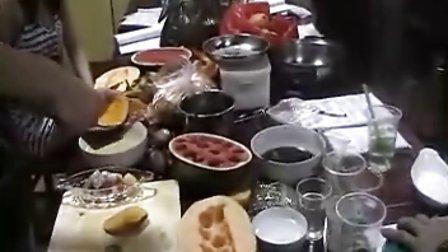 芒果沙冰的做法,酷巴甜品培训