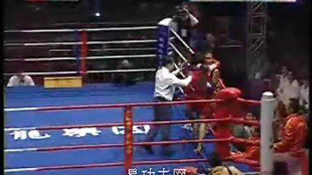 泰拳争霸赛 2010中国武术散打VS职业泰拳争霸赛 芭利娅VS苗玉杰 变性拳王复出
