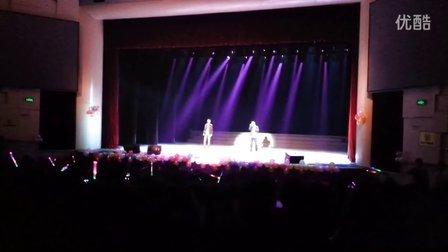 四川警察学院好声音男男基情对唱《对不起我爱你》