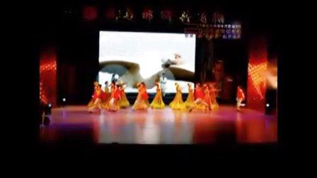 为邮储银行2010年度会上演大型舞蹈