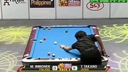 2011 WTBC Last 64 Mika Immonen vs Tomoo Takano