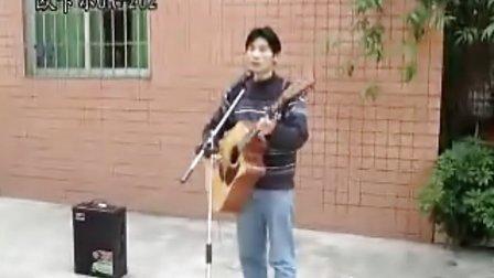 流浪歌手王国华吉他弹唱歌曲《恰似你的温柔》欧卡尔 充电吉他音箱 歌神OR-202[80W]
