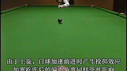 WPBSA官方斯诺克基础教程 第9集  塞 Mr.老崔增补版