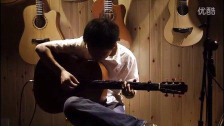 湖南长沙指弹吉他群友会11,钟子琪表演《新不了情》,《传奇》