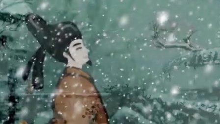 分级阅读第五级古诗——梅花(动漫)