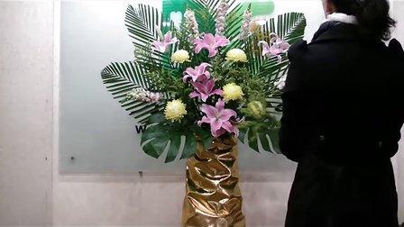 鲜花培训--开鲜花店,学习插花视频