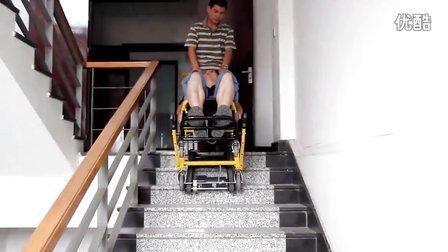 电动楼梯担架 自动爬楼担架 自动上楼椅 (3)