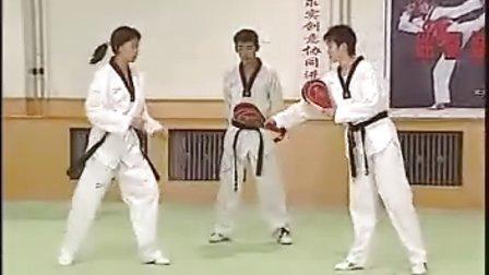 【侯韧杰  TKD  教学篇】之七级段冠军技术