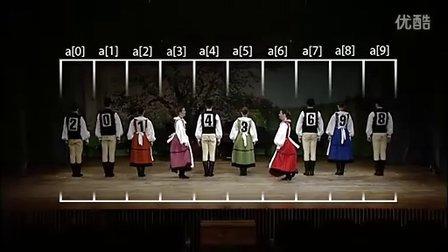 谢尔排序Shell Sort 舞蹈