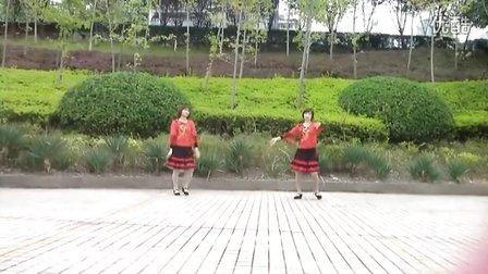 重庆彩云广场舞《留客歌》正、背面