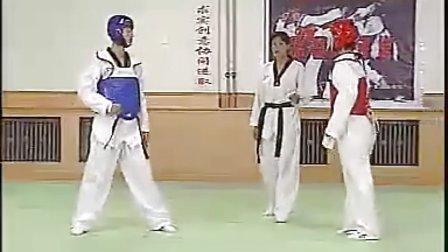 【侯韧杰  TKD  教学篇】之 一级段冠军技术