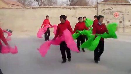 正宗的山东大秧歌来了-2011年春节山东省广饶县大桓台村秧歌表演