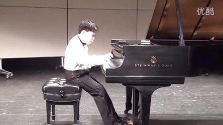 黎卓宇(George Li)弹奏贝多芬F大调第六号钢琴奏鸣曲