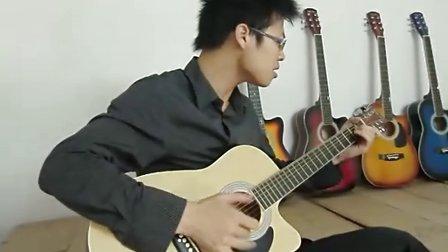 39寸狮王试弹硬币 姑娘 天空之城吉他弹奏