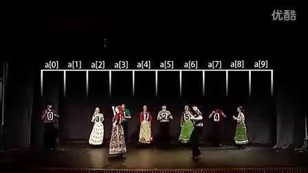 选择排序Select Sort排序舞蹈