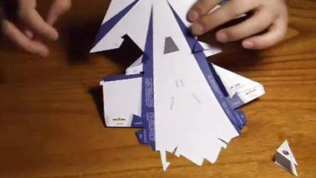 歼10猛龙仿真纸飞机