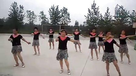 固始田园香舞蹈队  广场舞  阿瓦人民唱新歌