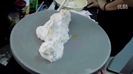 蛋糕制作 蛋糕裱花 --十二生肖之老鼠,牛,老虎