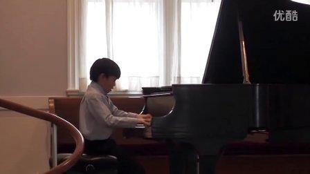 黎安宙弹奏肖邦的升G小调波兰舞曲