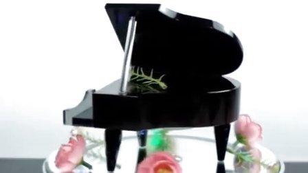 生日礼物 结婚礼品 创意情人节礼物 圣诞礼物 送女 送男  水晶钢琴音乐盒——我心永恒