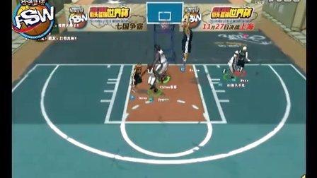 2011街头篮球世界杯中国女子队对战韩国女子队