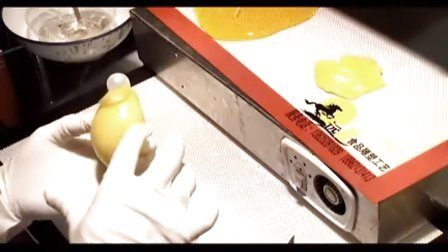 周毅食品雕刻  糖艺光盘 糖艺视频糖艺金鱼