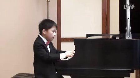 黎安宙弹奏海顿D大调钢琴奏鸣曲