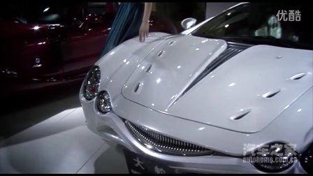 汽车之家2011上海车展静态实拍 光冈自动车展台