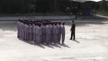 丹东市曙光职专军训
