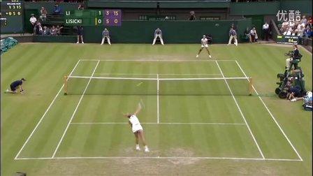 2011温布尔登网球锦标赛女单R2 李娜VS里斯基 HL