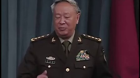 解放军总参谋长陈炳德上将当面狠批美国太霸道
