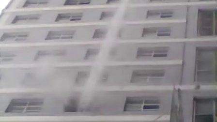 锡林郭勒职业学院宿舍楼着火