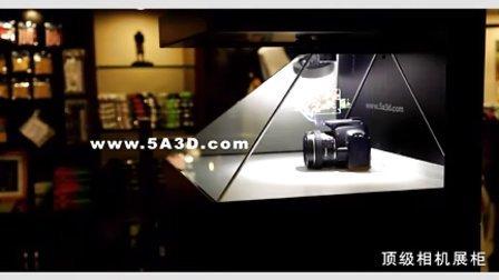 3d全息成像技术 实物展示结合有效增加顾客驻留时间