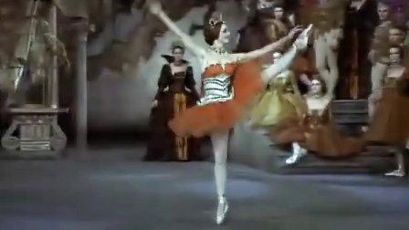 【唐吉尔看芭蕾】天鹅湖Swan Lake  第一幕女变奏1(Nureyev)