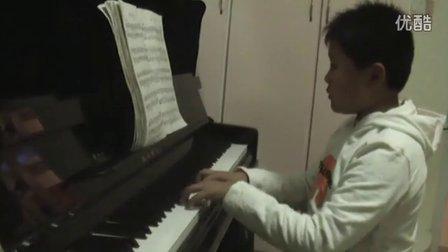 钢琴练习《采茶调》