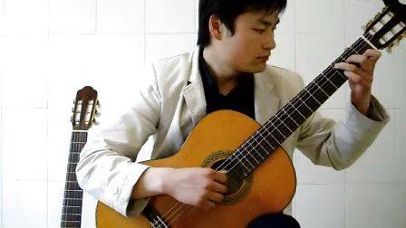 潍坊吉他 原创编曲 荷塘月色 优美古典吉他独奏版 凤凰传奇