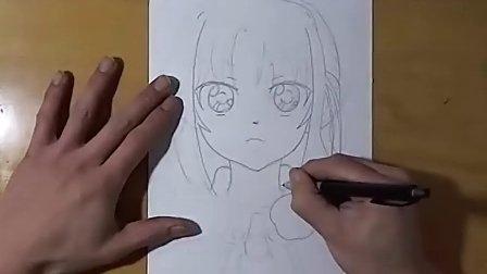 GODEES手绘同人漫画过程 2