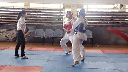 杰克华侨4-厦门大学第一届跆拳道邀请赛