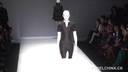 【模特中国】中国国际时装周2014春夏 胡社光高级定制时装发布-上