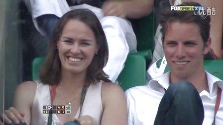 2011法国网球公开赛女单决赛 李娜VS斯齐亚沃尼