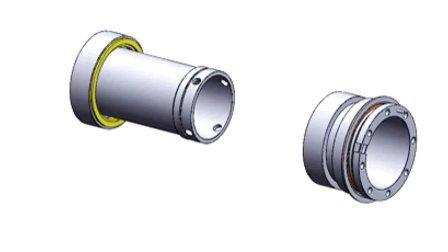 TSDC-J04 组装动画 机械密封 双端面密封 上海天示