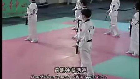 【侯韧杰 TKD 教学篇】之崔永福跆拳道7