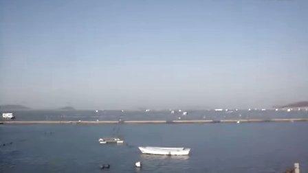 烟台-长岛海边 蓝天碧海
