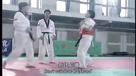 【侯韧杰 TKD 教学篇】之崔永福跆拳道15