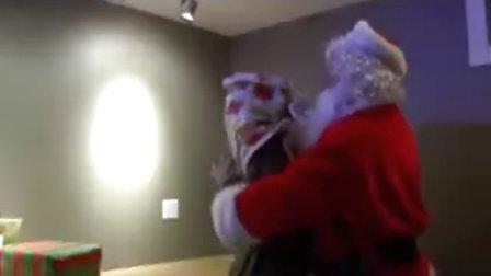 圣诞老人杀帅哥