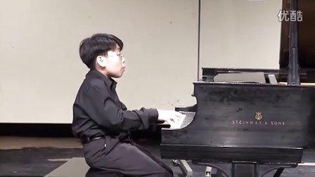 黎卓宇(George Li)弹奏莫什科夫斯基第6号F大调练习曲