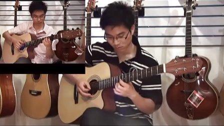 武汉原声吉他俱乐部  经典名曲 罗密欧与朱丽叶 吉他二重奏教学
